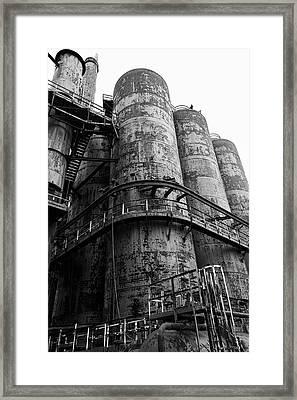 Bethlehem Steel Up Close Framed Print