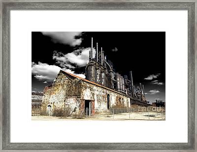 Bethlehem Steel Fusion Framed Print by John Rizzuto