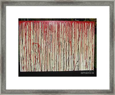 Betrayal Framed Print by Jacqueline Athmann
