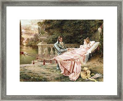 Betrothed Framed Print by Joseph Frederic Charles Soulacroix