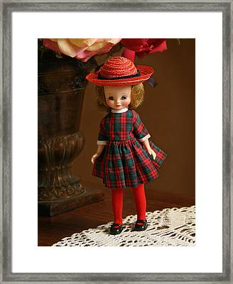Betsy Doll Framed Print by Marna Edwards Flavell