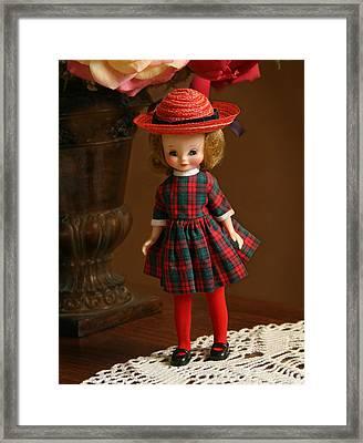 Betsy Doll Framed Print