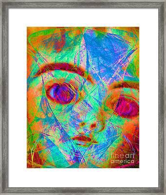 Bette Davis Eyes 20150922 Framed Print