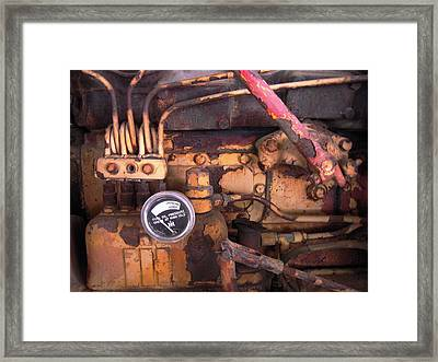 Framed Print featuring the photograph Better Check That Oil Pressure by Don Struke
