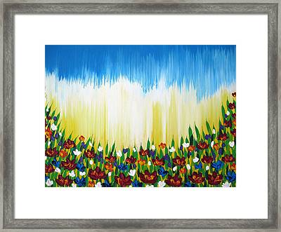 Better Days Framed Print by Cathy Jacobs