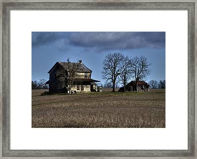Framed Print featuring the photograph Better Days by Robert Geary