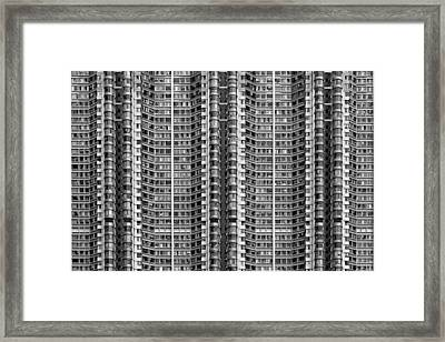 Better Know Where Your Flat Is Framed Print by Stefan Schilbe