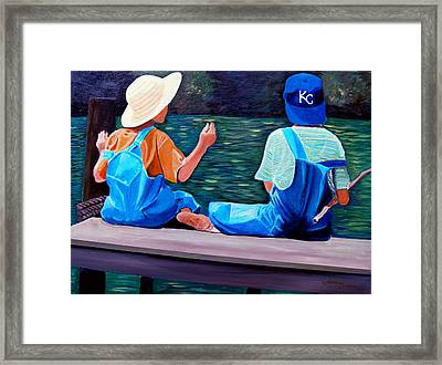Better Than Video Games Framed Print by JoeRay Kelley