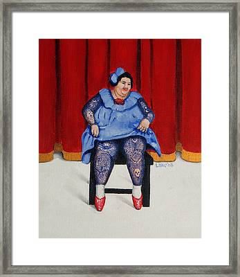 Betty 1 Framed Print by Matthew Lake