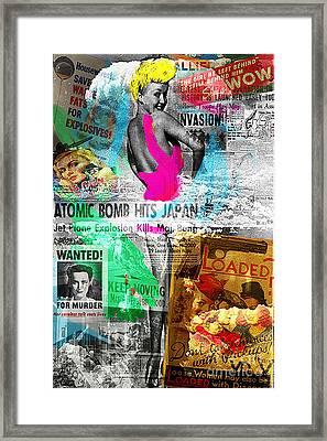 Betty Pop Framed Print