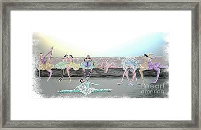 Between Acts Framed Print by Cynthia Sorensen