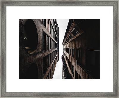 Between Buildings In Saint Louis Framed Print by Dylan Murphy