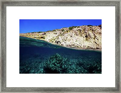 Between Framed Print