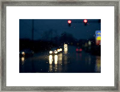 Between Framed Print by Kevin Brett