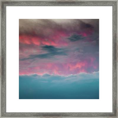 Between Mars And Venus Framed Print by Az Jackson