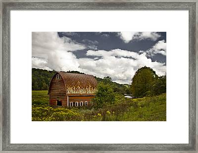 Between Framed Print by Mike McMurray
