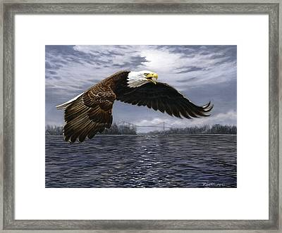 Between Nations Framed Print