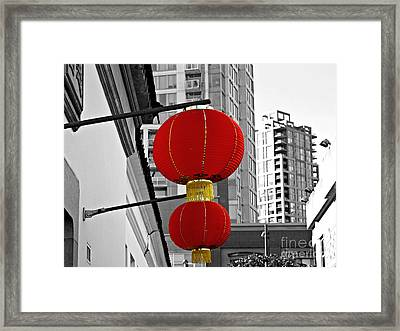 Framed Print featuring the photograph Between Old And New by Cendrine Marrouat