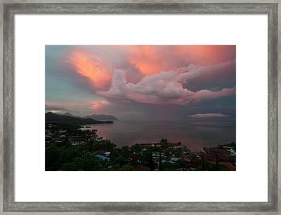 Between Rainstorms Framed Print
