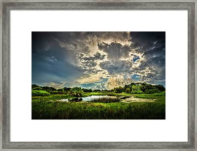 Between Storms Framed Print by Marvin Spates