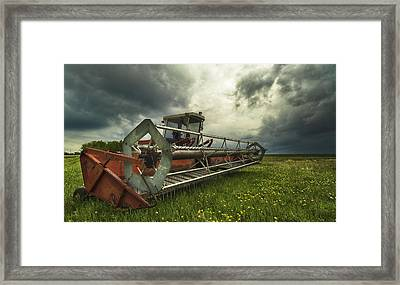 Between Storms Framed Print by Stuart Deacon