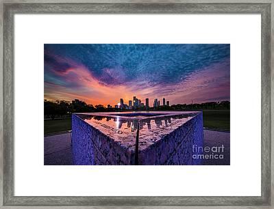 Between Sunset And Sunrise Framed Print