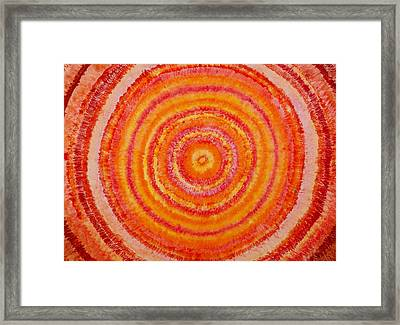 Between The Extremes Framed Print by Gregory Young