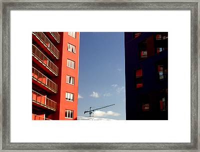 Between The Walls Framed Print by Jez C Self