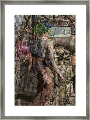 Between Worlds Framed Print by Leigh Odom