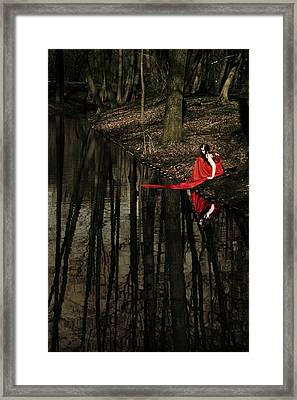 Between Worlds Framed Print by Cambion Art