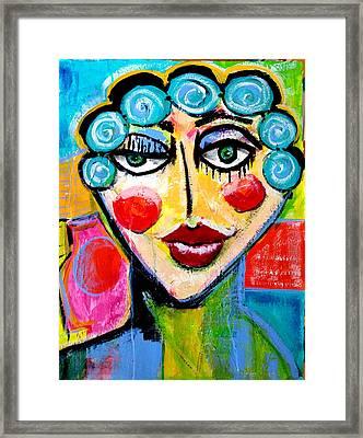 Beulah - Vivid Vixen 2 Framed Print