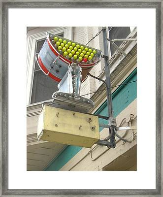 Beverly Hills Call Me Framed Print by Todd Sherlock
