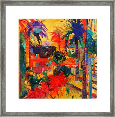 Beverly Hills Framed Print