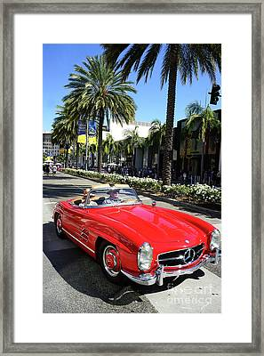Beverly Hills Rodeo Drive 15 Framed Print