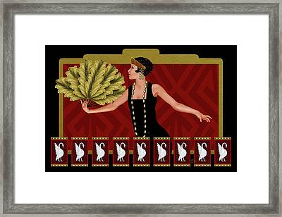 Bevy Framed Print by Troy Brown