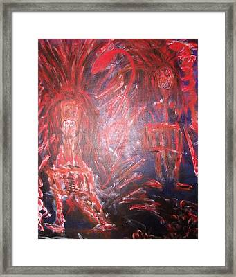 Beware Framed Print by Randall Ciotti