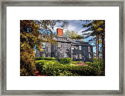 Bewitching Salem Framed Print by Carol Japp