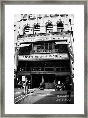 Bewleys Oriental Cafe In Grafton Street In Dublin Ireland Framed Print by Joe Fox