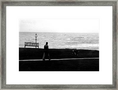 Bexhill 18 Framed Print by Jez C Self