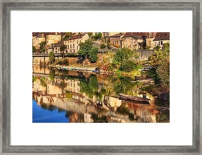 Beynac-dordogne France Framed Print