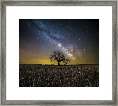 Framed Print featuring the photograph Beyond by Aaron J Groen
