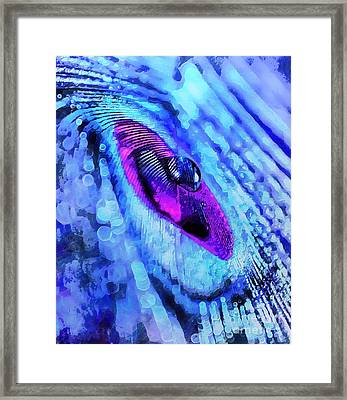 Beyond Destiny Framed Print by Krissy Katsimbras