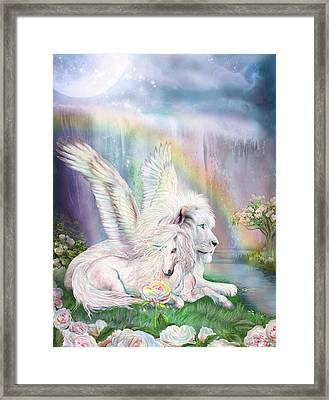 Beyond Fantasy Framed Print by Carol Cavalaris