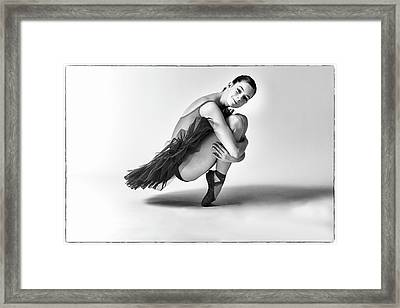 Beyond Pointe Framed Print