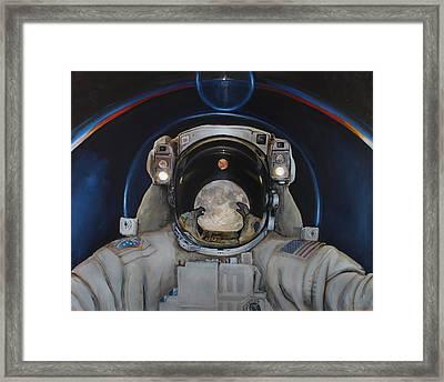 Beyond Framed Print by Simon Kregar
