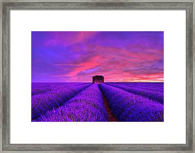 Beyond Sunset Framed Print