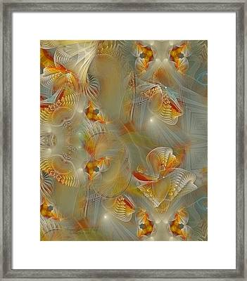 Beyond The Dance Of Life Framed Print by Gayle Odsather