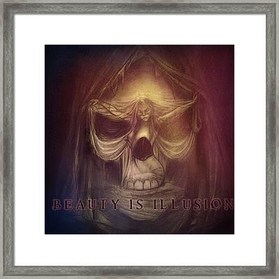 Beyond The Last Veil  Framed Print