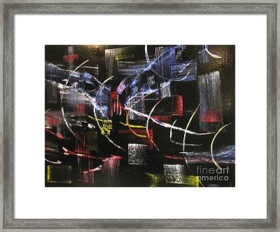 Beyond The Light Framed Print by David Hatton