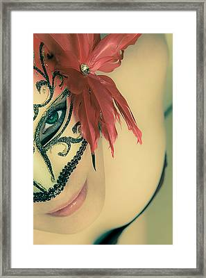 Beyond The Mask #02 Framed Print